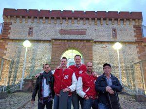 Jailhouse rock, die Reindeers in der JVA Bruchsal.